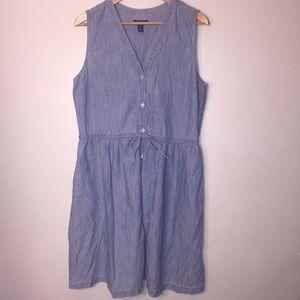 Gap L denim summer dress